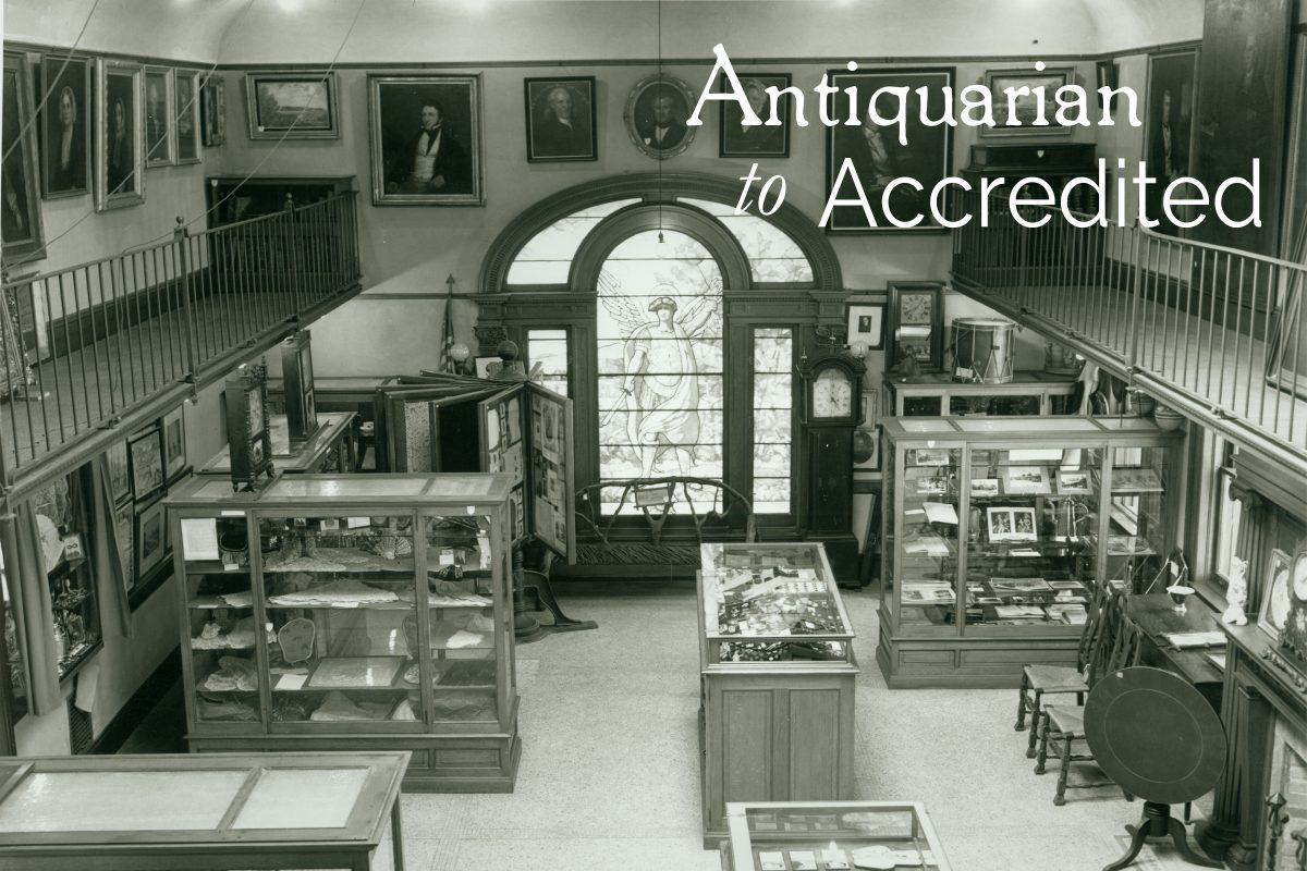 Antiquarian to Accredited